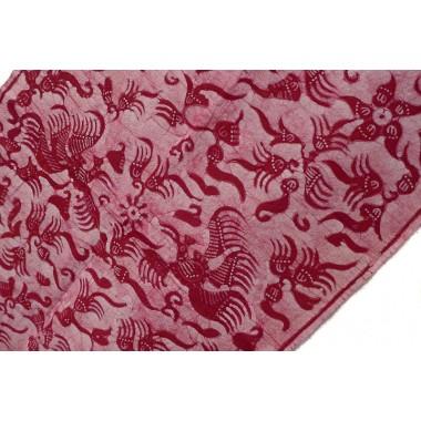 Red Javanese Batik