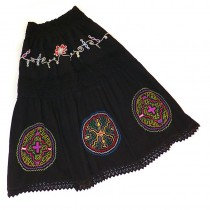 Shipibo embroidered skirt