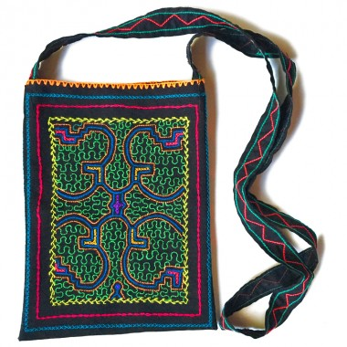 Shipibo embroidered bag