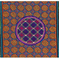 Shipibo embroidered cloth