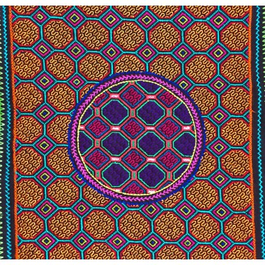 Shipibo embroidered cloth