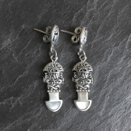 Tumi Silver Earrings