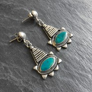 TurquoiseNaylamp earrings