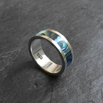 Avalon silver ring