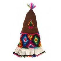 Brown Titicaca chullo