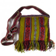 Chawaytiri wool shoulder bag