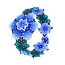Pulsera flor Huichol