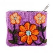 Ayacucho violet purse