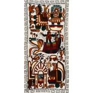 Tapiz bordado Titicaca