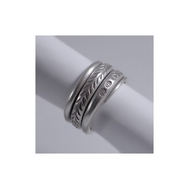hilltribe silver ring