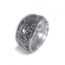 Balinese handmade silver ring