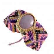 Brazalete turmalina violeta
